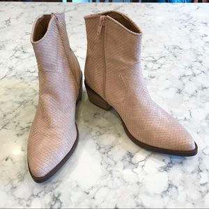 Report Zulia Ankle Boot Size 7 Nude Boho